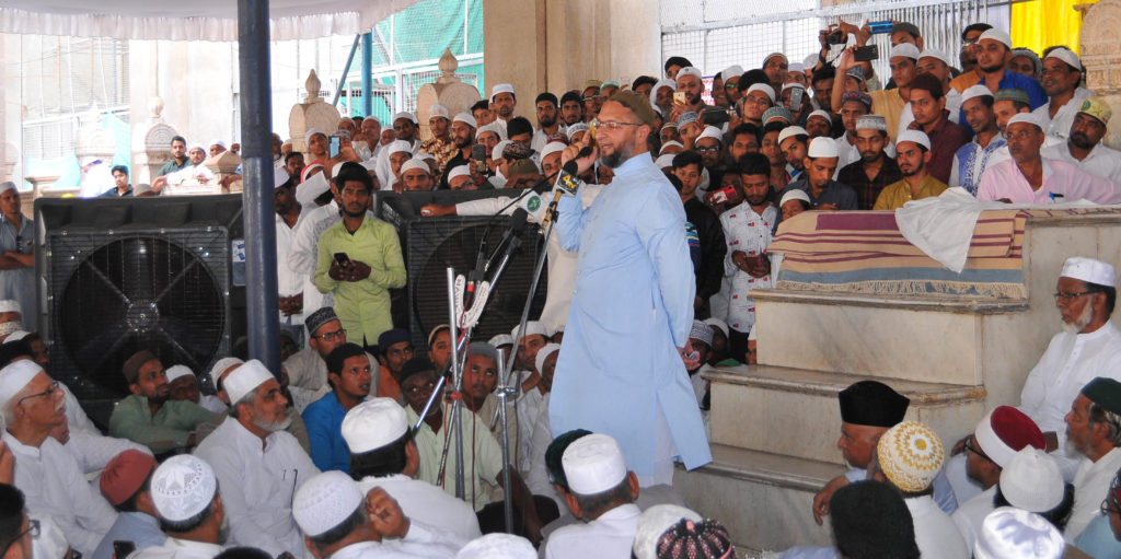 Owaisi Means Business Not Creating Space For BJP In UP