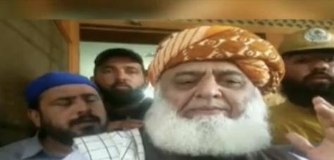 Moulana Fazlur Rahman warns Imran Khan to resign within 3 days