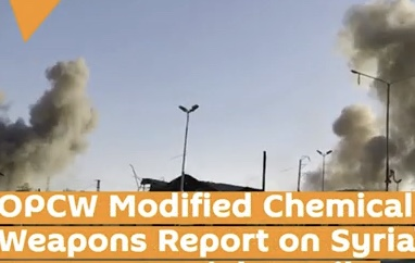 Syrian attack concluded with evidence of no use of Chemical Weapons