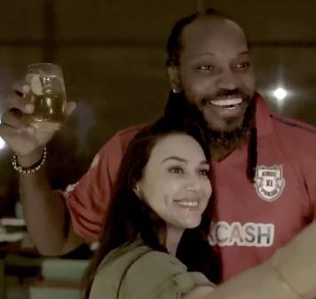 Punjab to win big game, Punjab IPL, Preity Zinta With Chris Gayle, Birthday, Party, fun, dance, drinks, Cricket, High scoring, Mumbai Indians