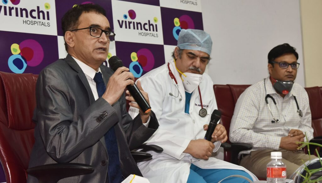 Virinchi Hospital performs heart valve replacement on 74 year old