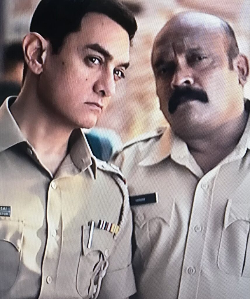 Aamir Khan ad exposes Indian Police activities on duty