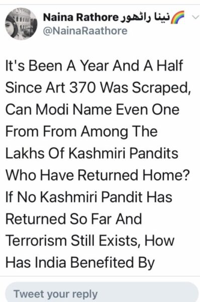 Article 370 was scrapped on Aug 5, 2019 from Kashmir for what?