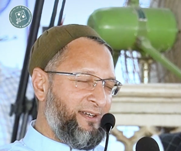 """Asaduddin Owaisi Claims Muslims in India Are Citizens Not On """"Rent"""""""
