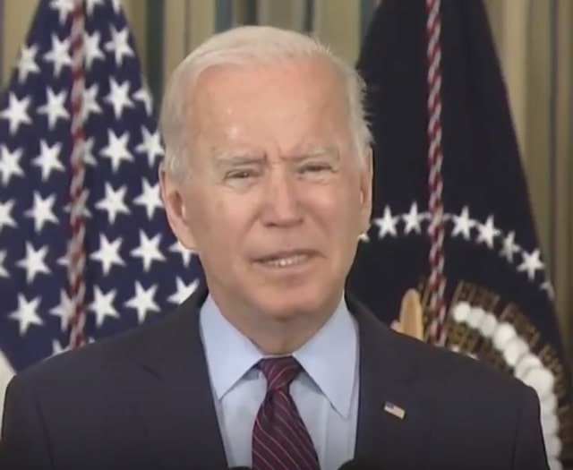 Joe Biden Says Republicans Just Get Out Of The Way
